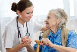 Сиделка с проживанием к пожилому, лежачему больному