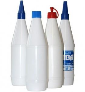 полиэтиленовая бутылка с пластиковым колпачком