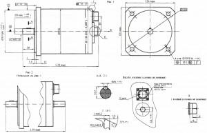 шаговые электродвигатели типа 2ДШР116