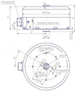 Электромагнит управления постоянного тока встраиваемый ЭМ01-7212