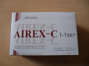 Айрекс С (Airex С) - стеклополиалкинатный цемент д/п.фиксации, реставрации, прокладок (20гр+12мл) infrus.ru
