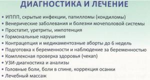 Лечение заболеваний женской и мужской половой сферы infrus.ru