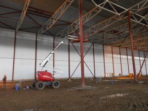 Комплекс работ по защите металлических конструкций от коррозии