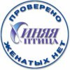 Логотип СИНЯЯ ПТИЦА, брачное агентство